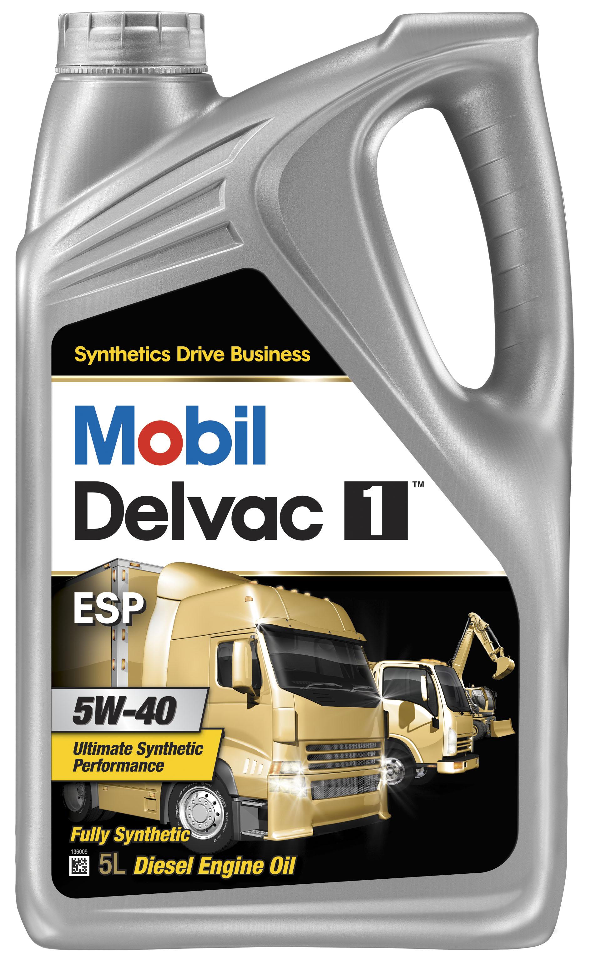 Mobil Delvac 1 ESP 5W40 Image