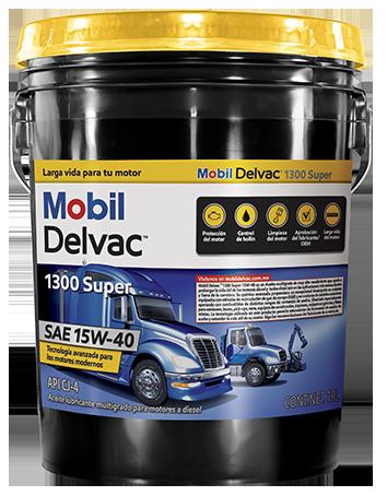 Mobil Delvac 1300 Super 15W-40 Image